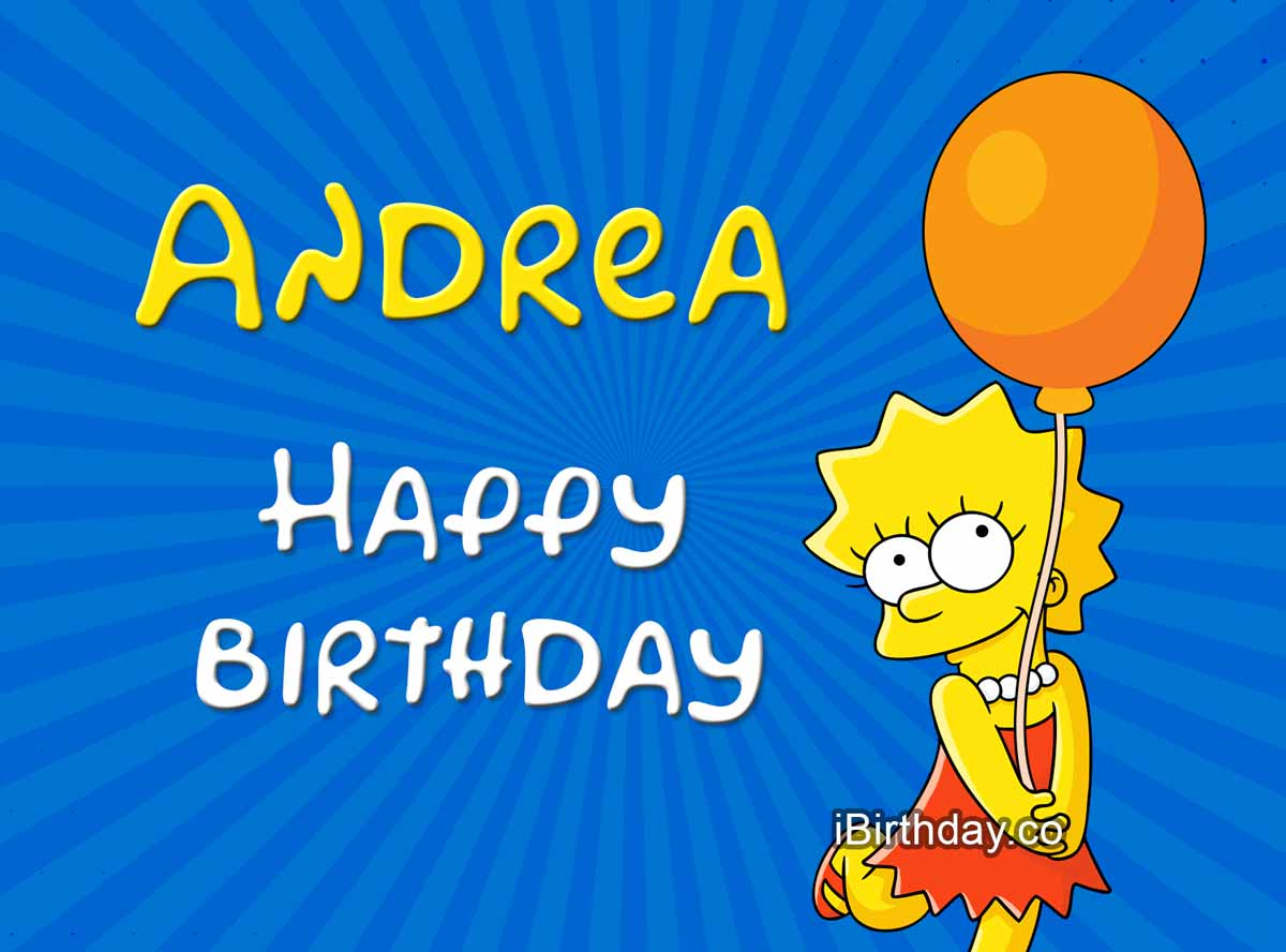 Andrea Lisa Simpson Birthday Meme