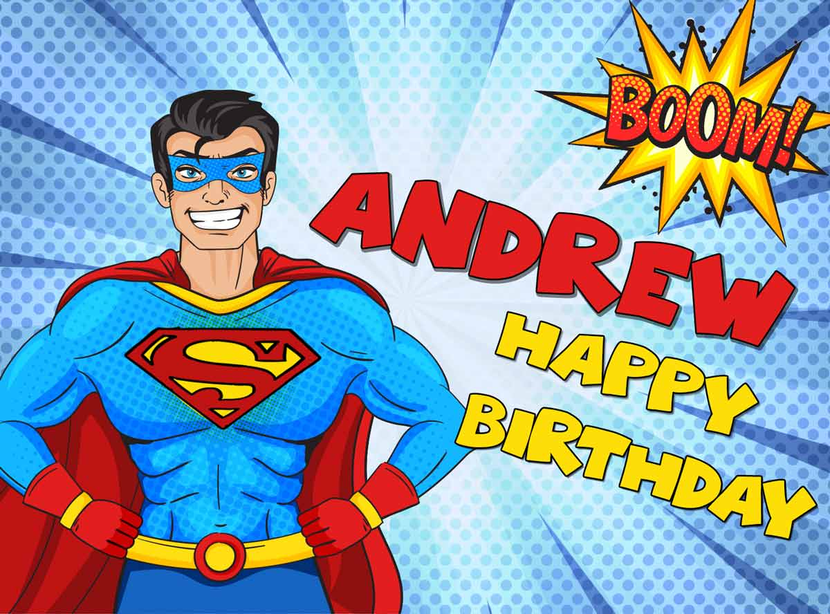 Andrew Superman Comics Birthday Meme