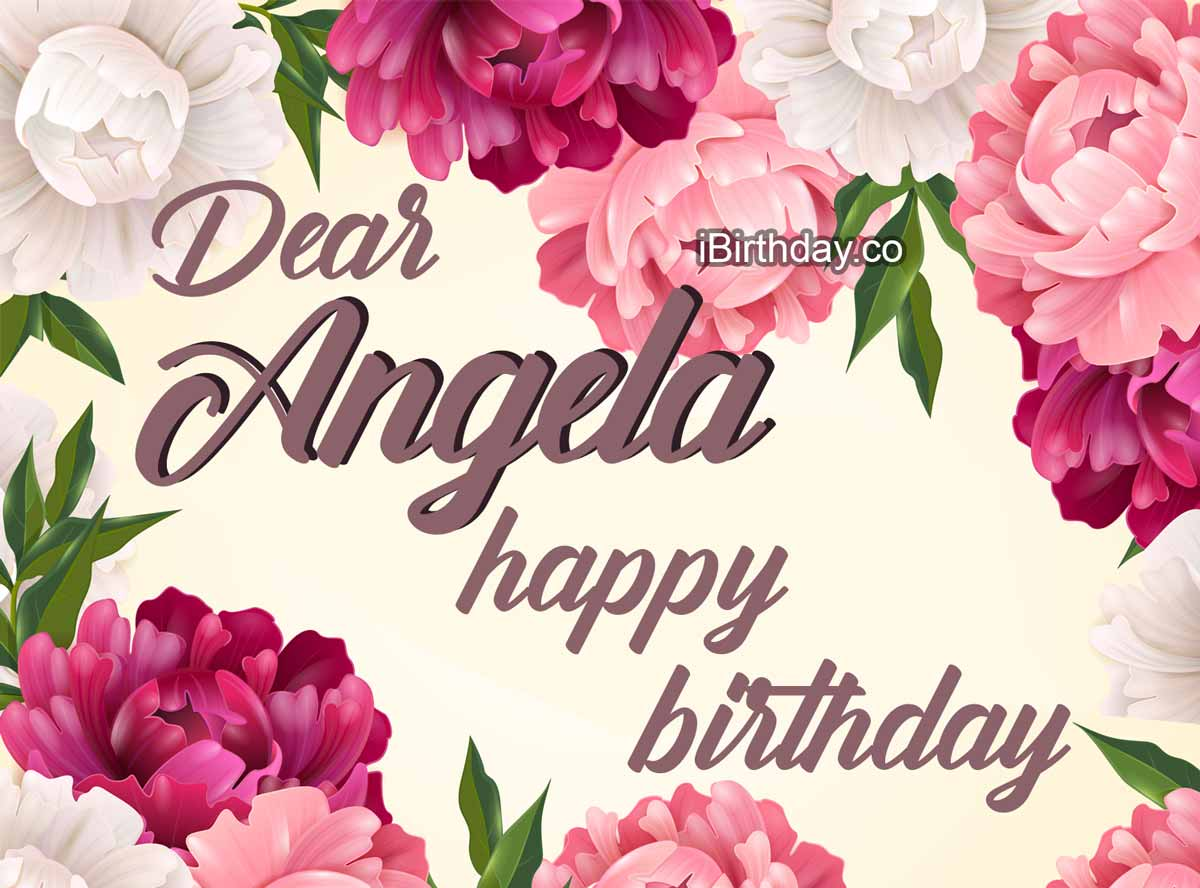 Angela Flowers Birthday Meme