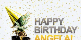 Angela Pineapple Birthday Meme