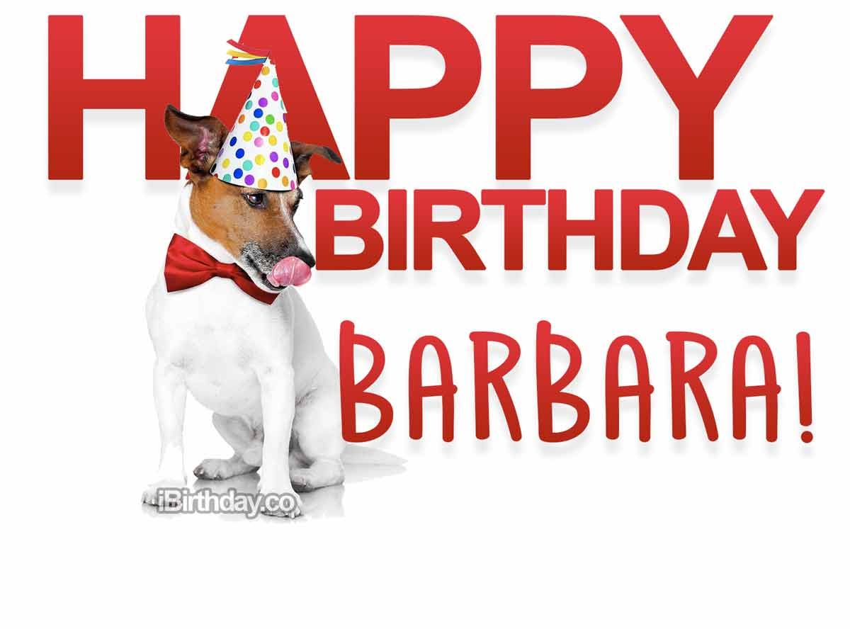 Barbara Dog Birthday Meme