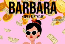 Barbara Money Birthday Meme