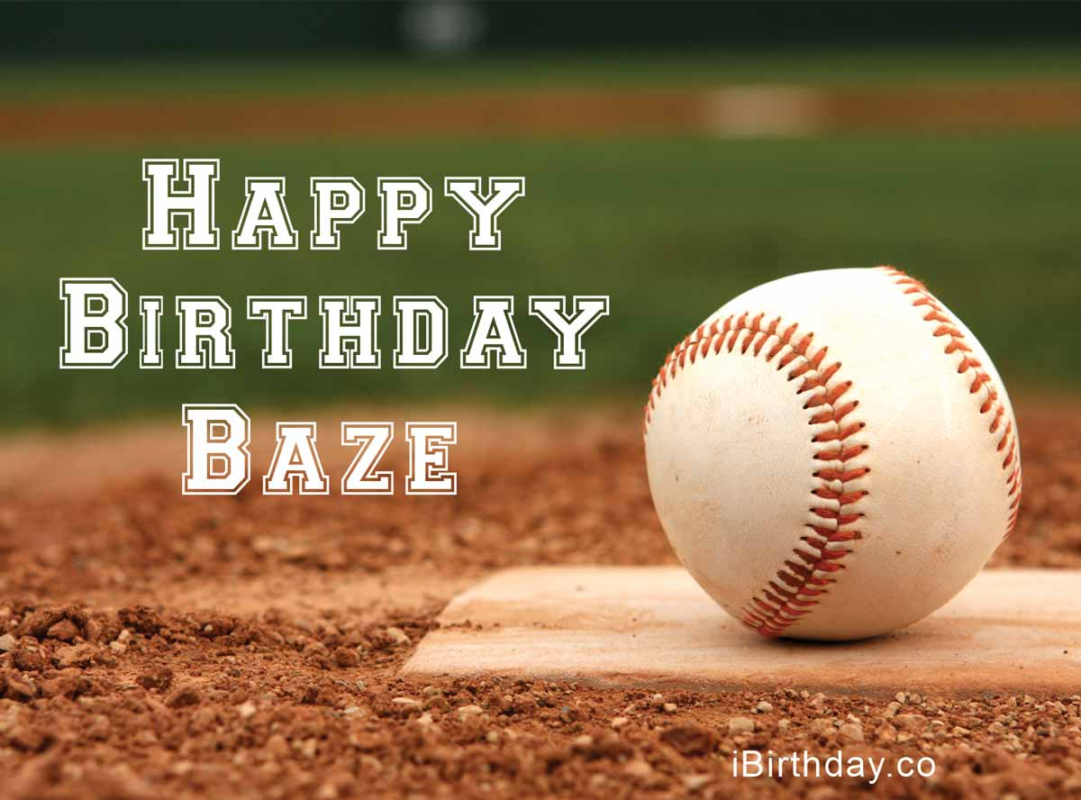 Baze Baseball Birthday Meme