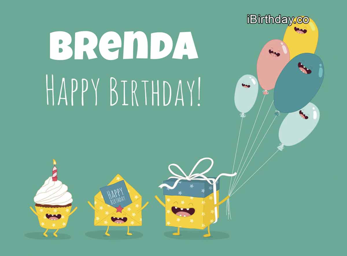 Brenda Gifts Birthday Wish