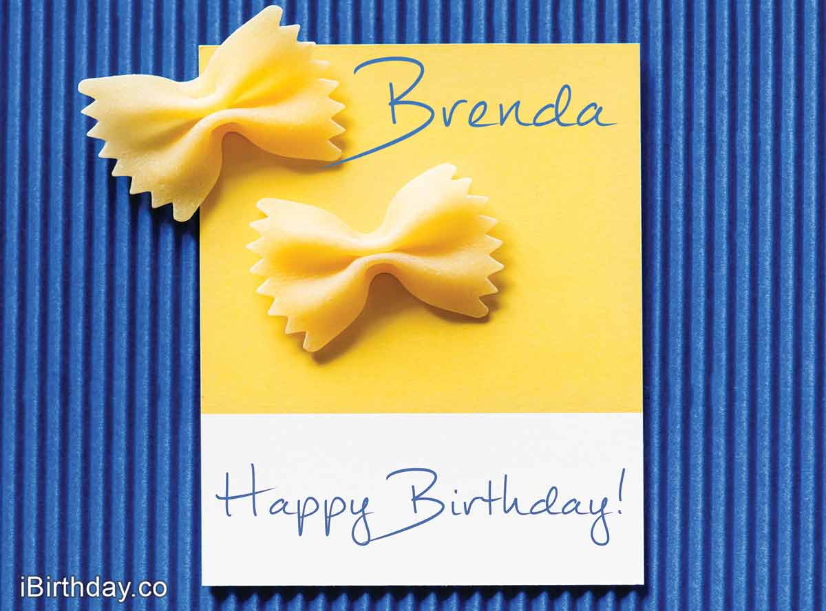 Brenda Macaroons Happy Birthday