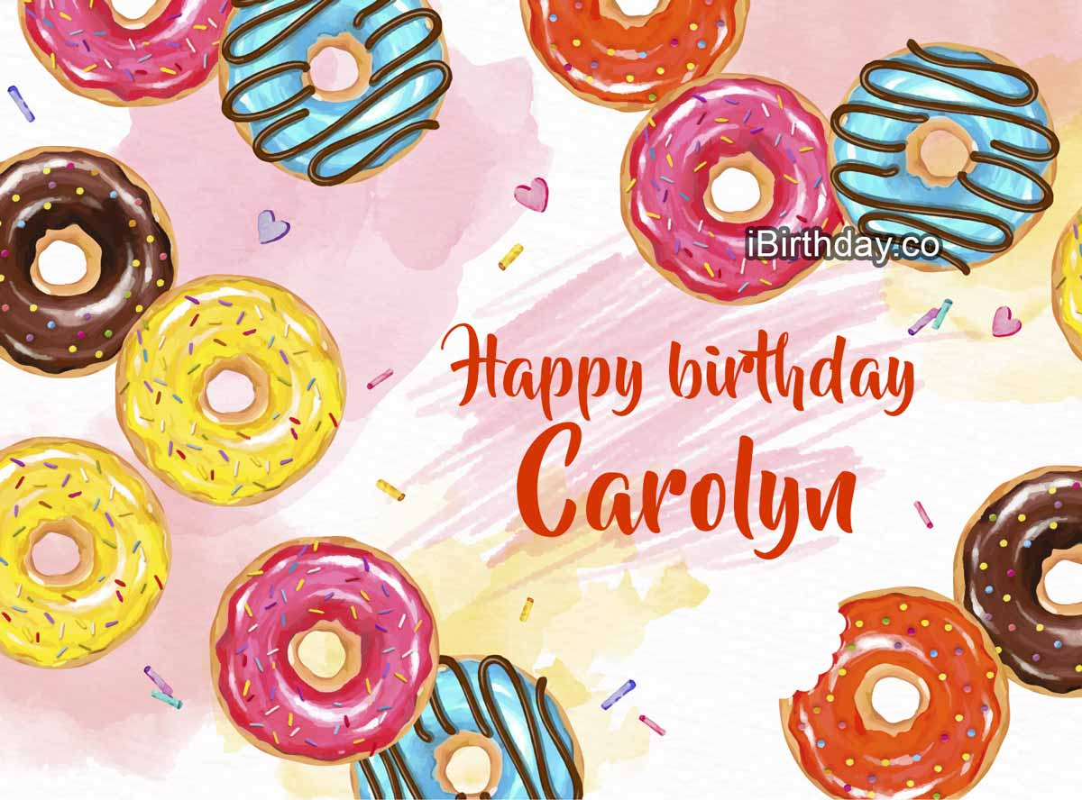 Carolyn Donuts Birthday Meme