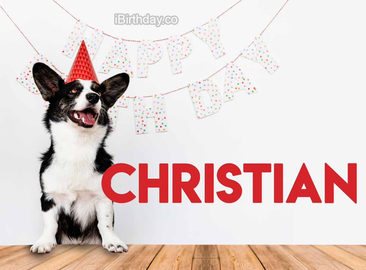 Christian Dog Happy Birthday