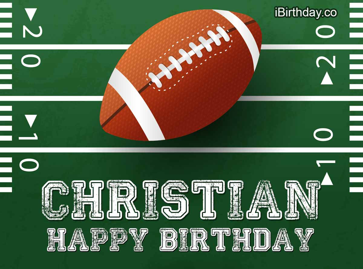 Christian Rugby Birthday Meme