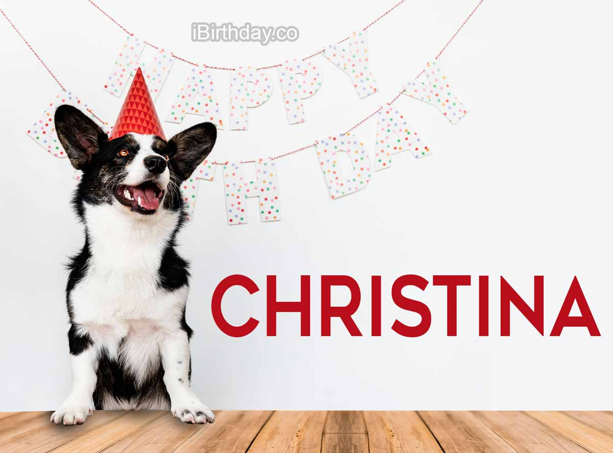 Christina Dog Birthday Meme