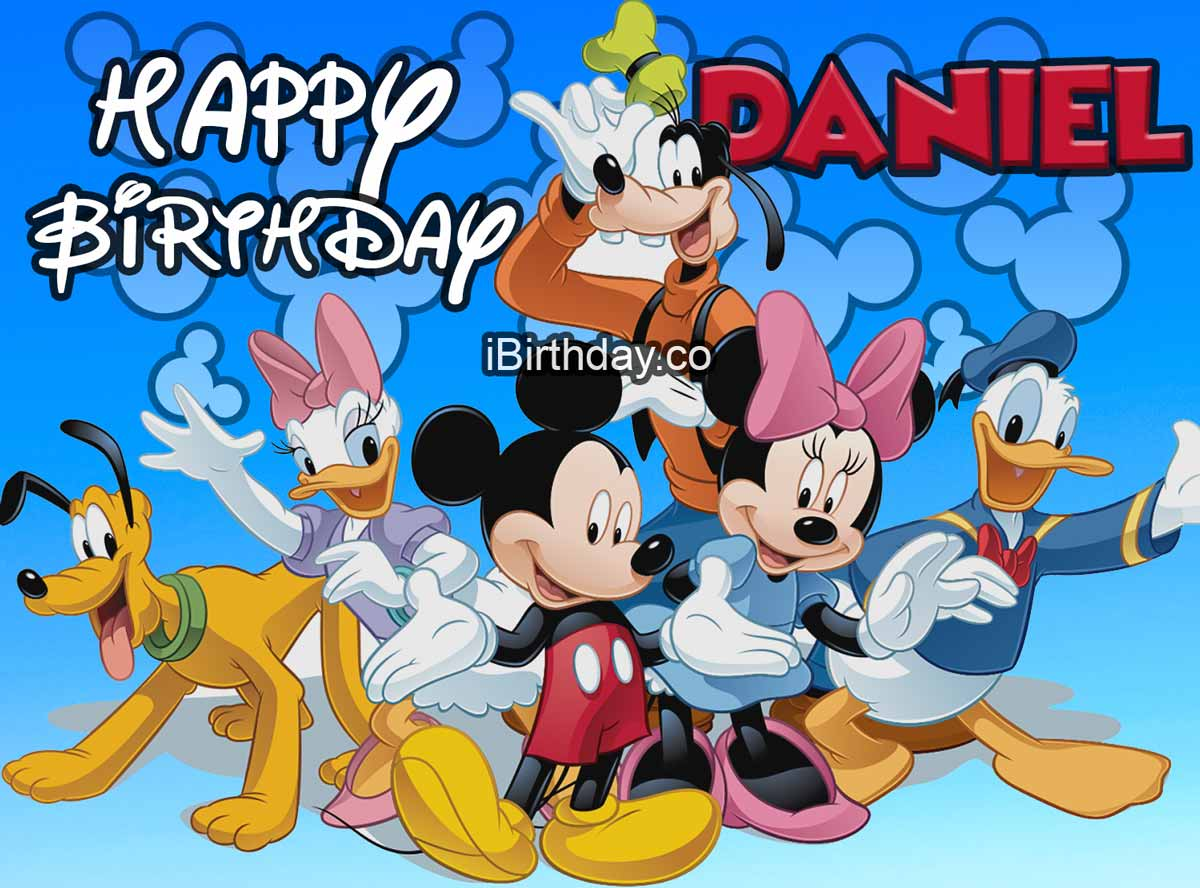 Daniel Disney Birthday Meme
