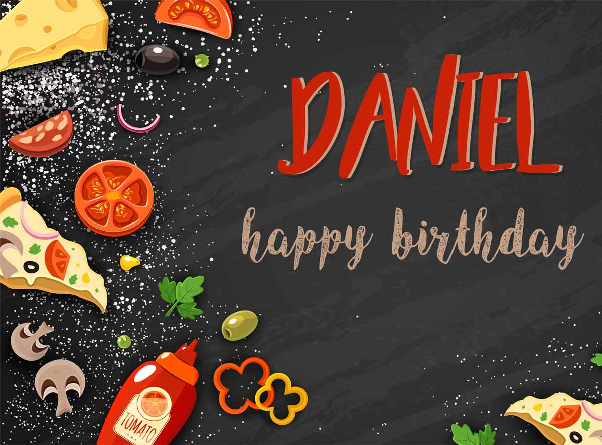 Daniel Food Birthday Meme