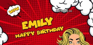 Emily Comics Birthday Meme
