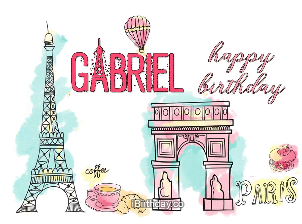 Gabriel Paris Birthday Meme