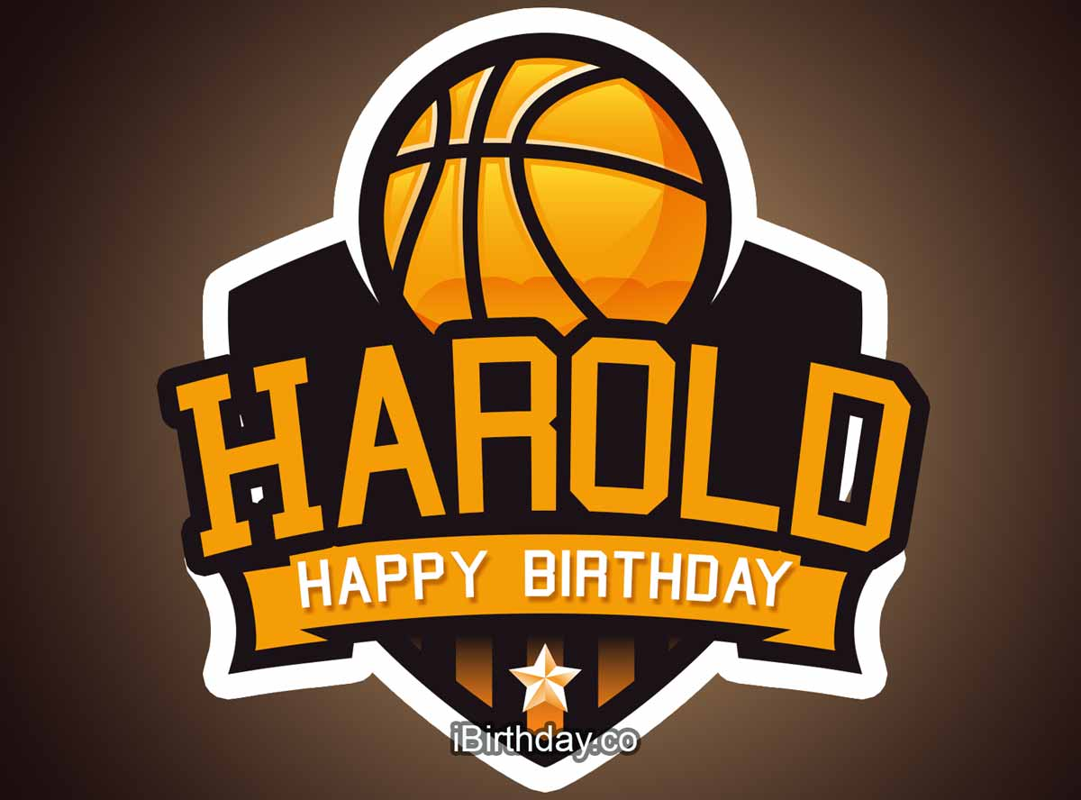Harold Basketball Birthday Meme