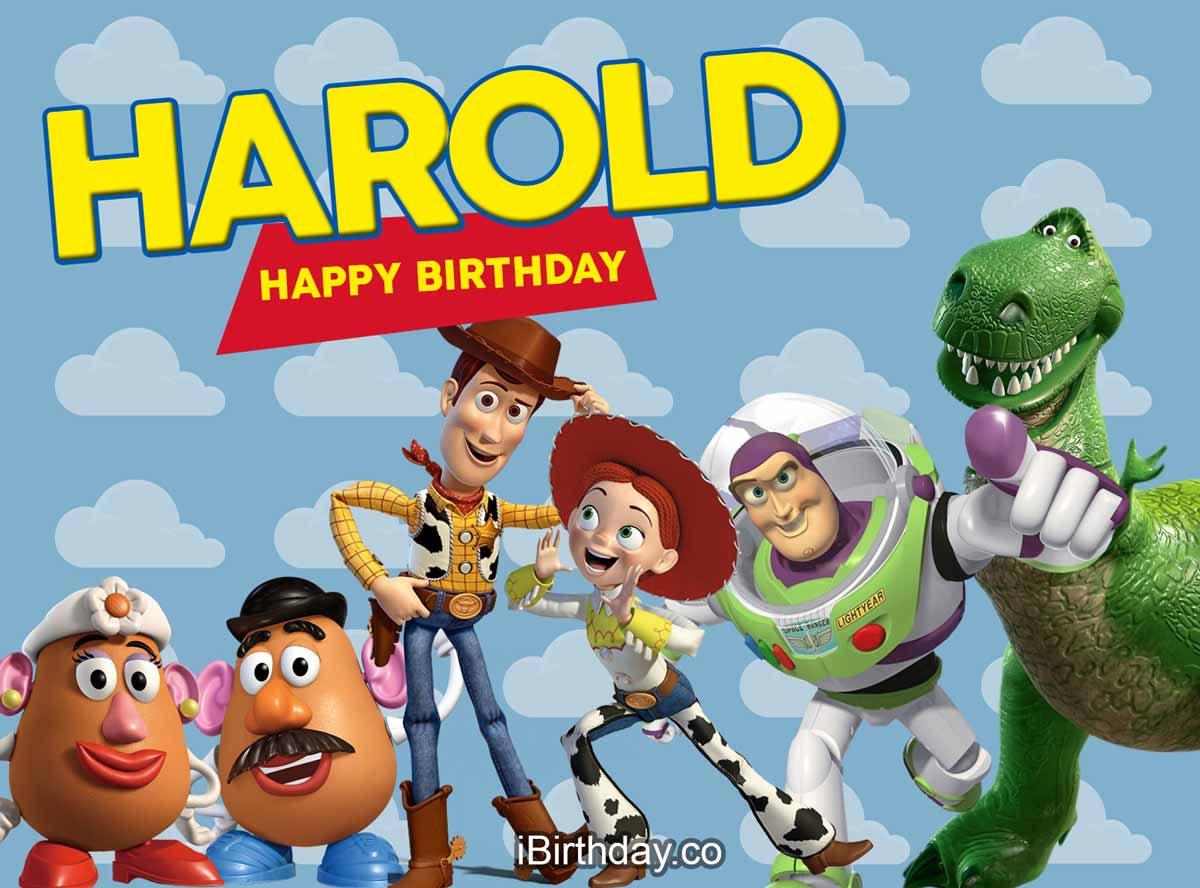 Harold Toy-Story Birthday Meme
