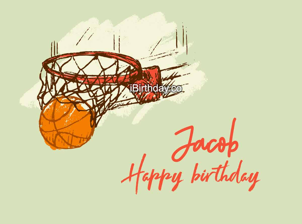 Jacob Basketball Happy Birthday Meme