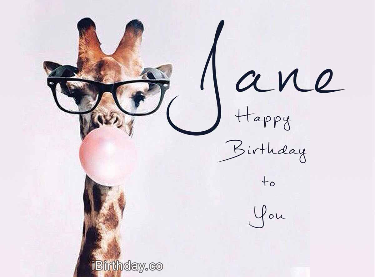 Jane Giraffe Birthday Meme