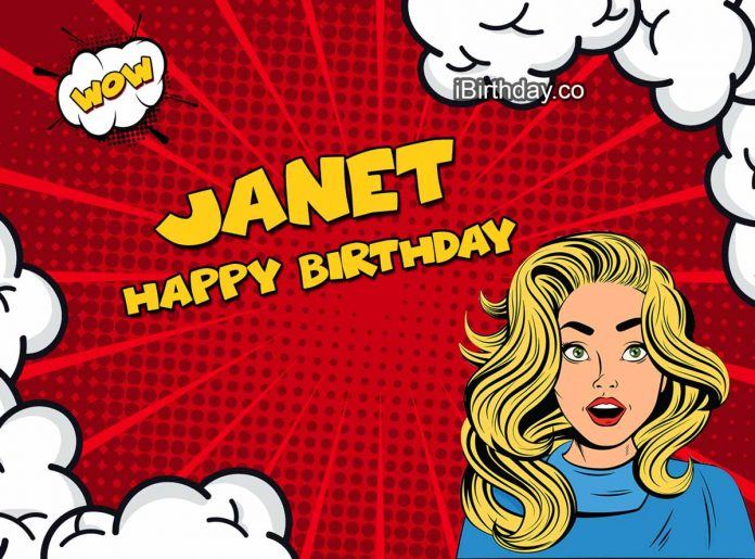 Janet Comics Birthday Meme