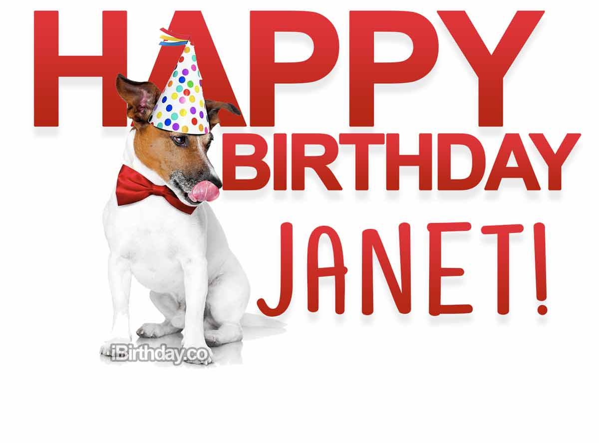 Janet Dog Birthday Meme