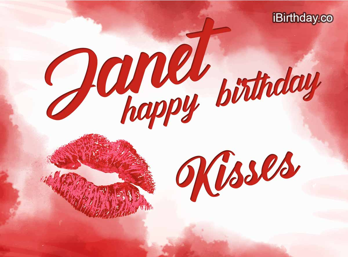 Janet Kisses Birthday Meme