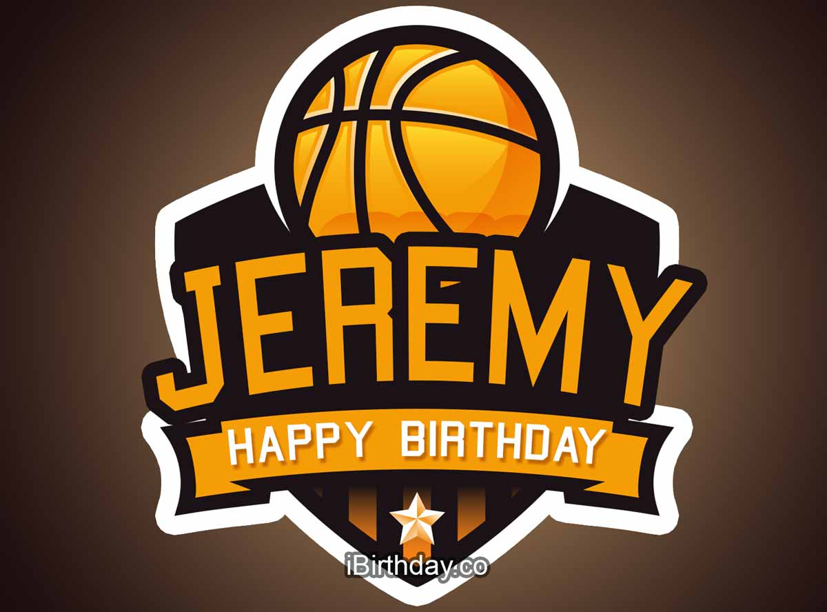 Jeremy Basketball Birthday Meme
