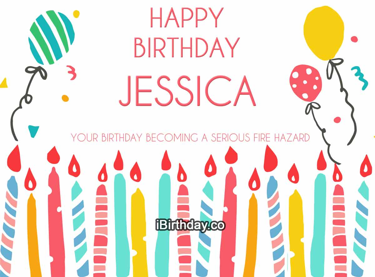 Jessica Candles Birthday Meme