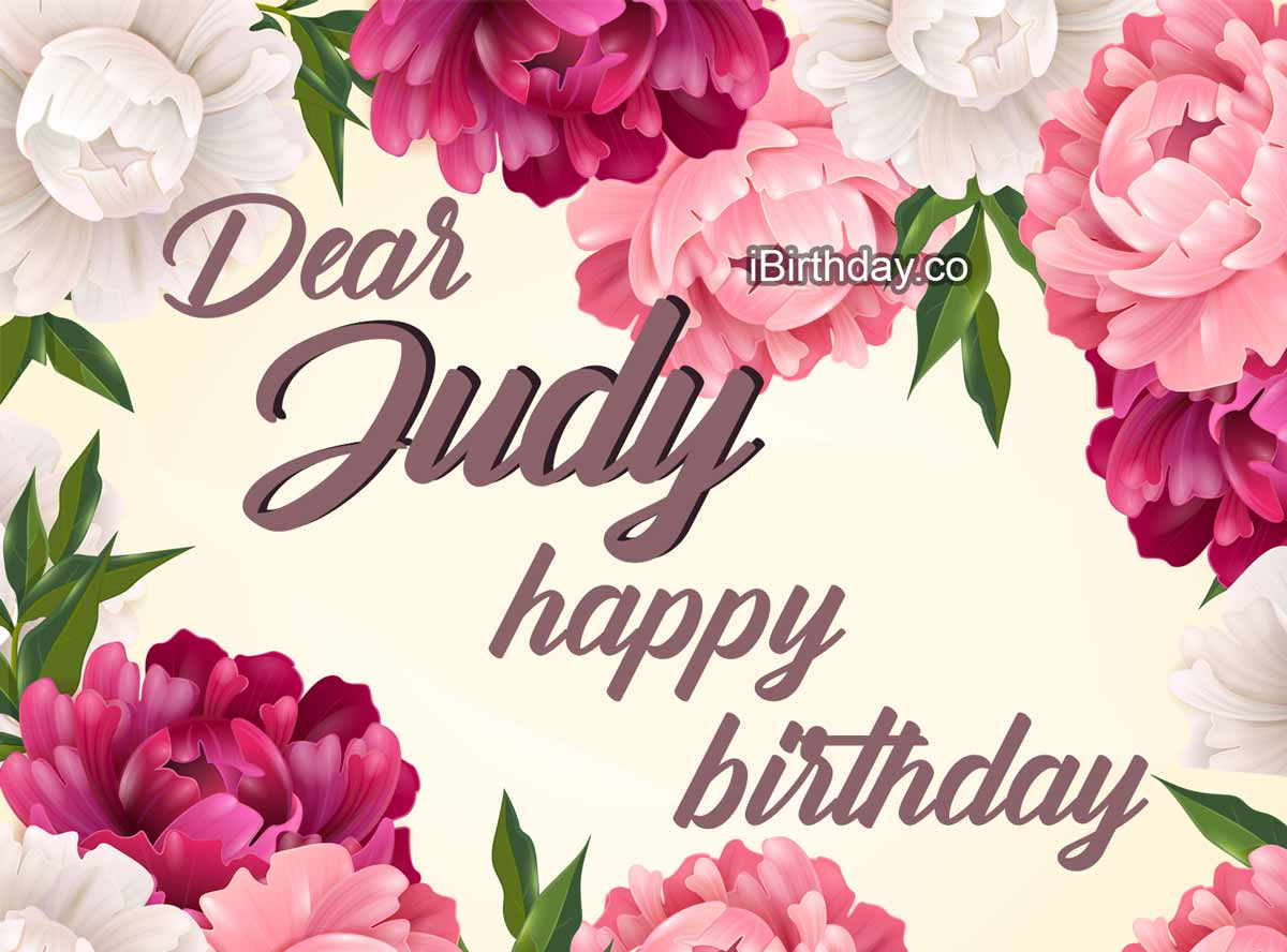 Judy Flowers Birthday Meme