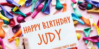 Judy Happy Birthday Balloons Meme