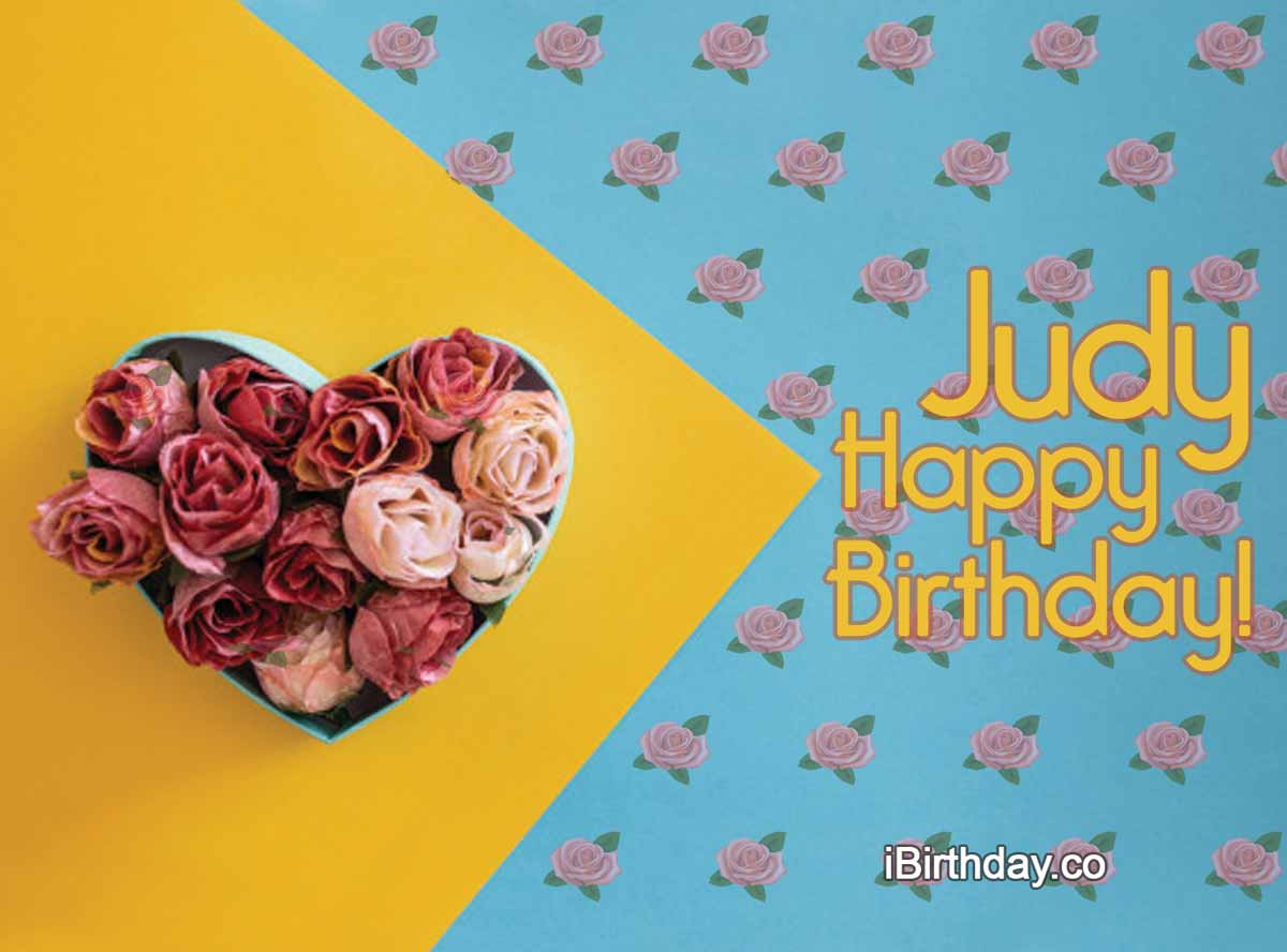 Judy Roses Birthday Wish