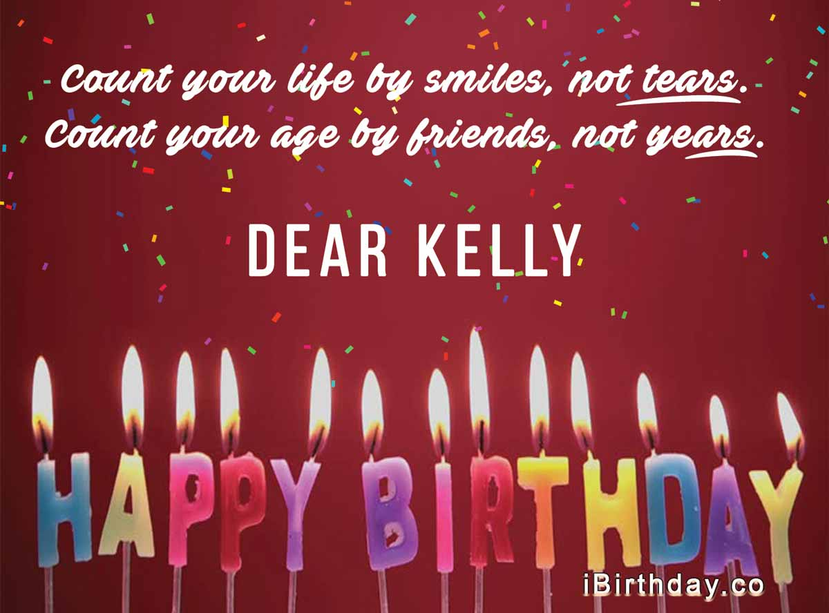 Kelly Birthday Card Meme