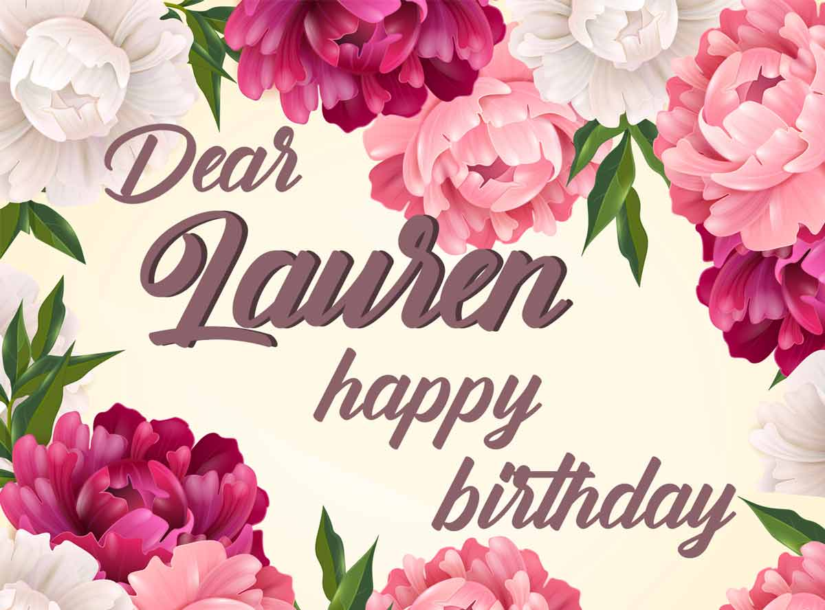 Lauren Flowers Birthday Meme