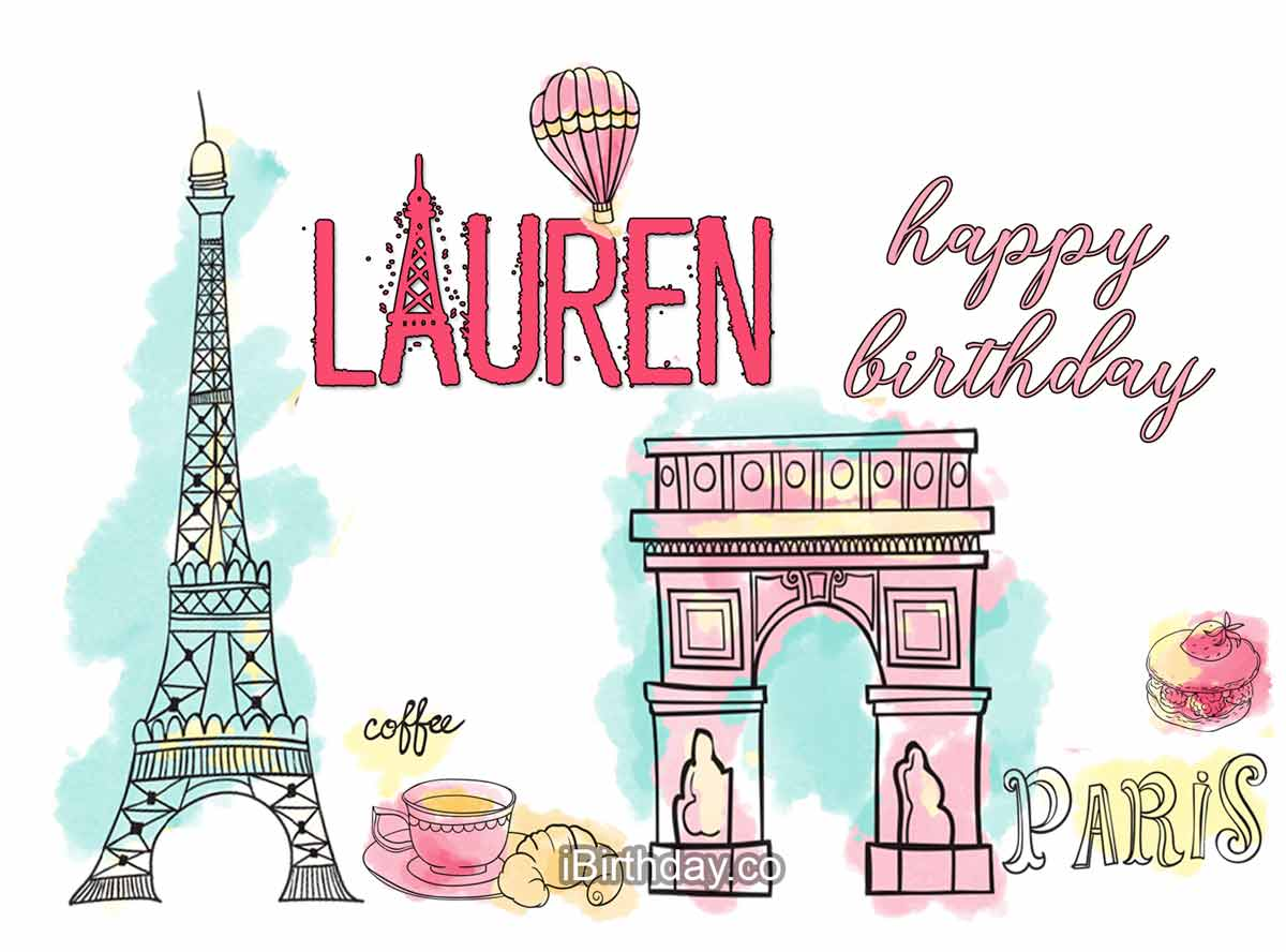Lauren Paris Birthday Wish