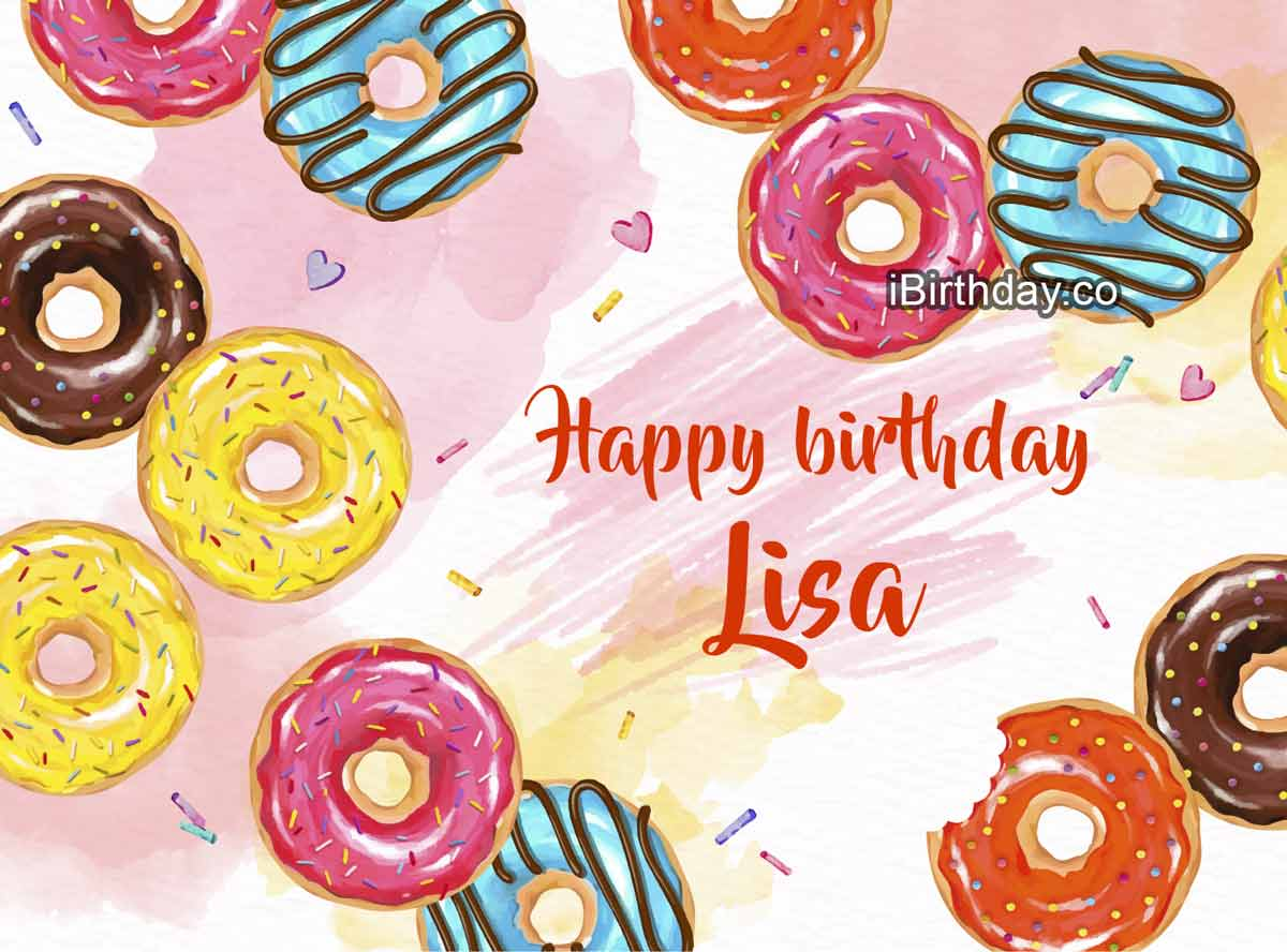Lisa Donuts Birthday Meme