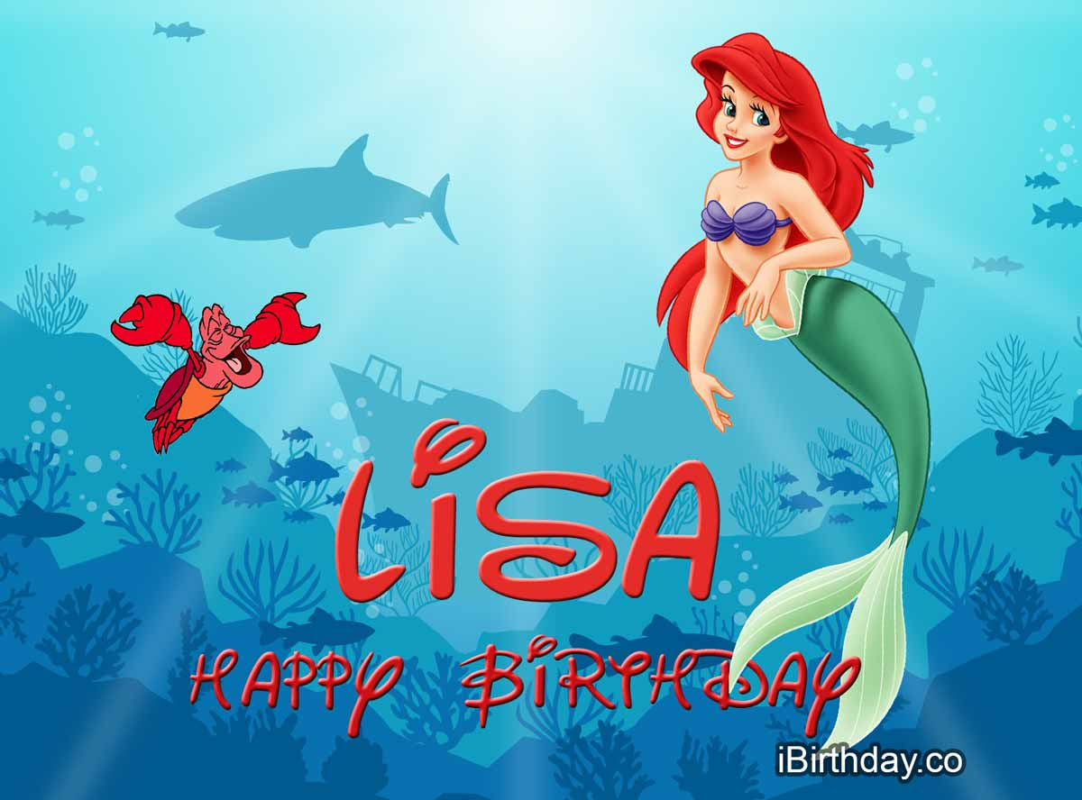 Lisa Littleermaid Birthday Meme