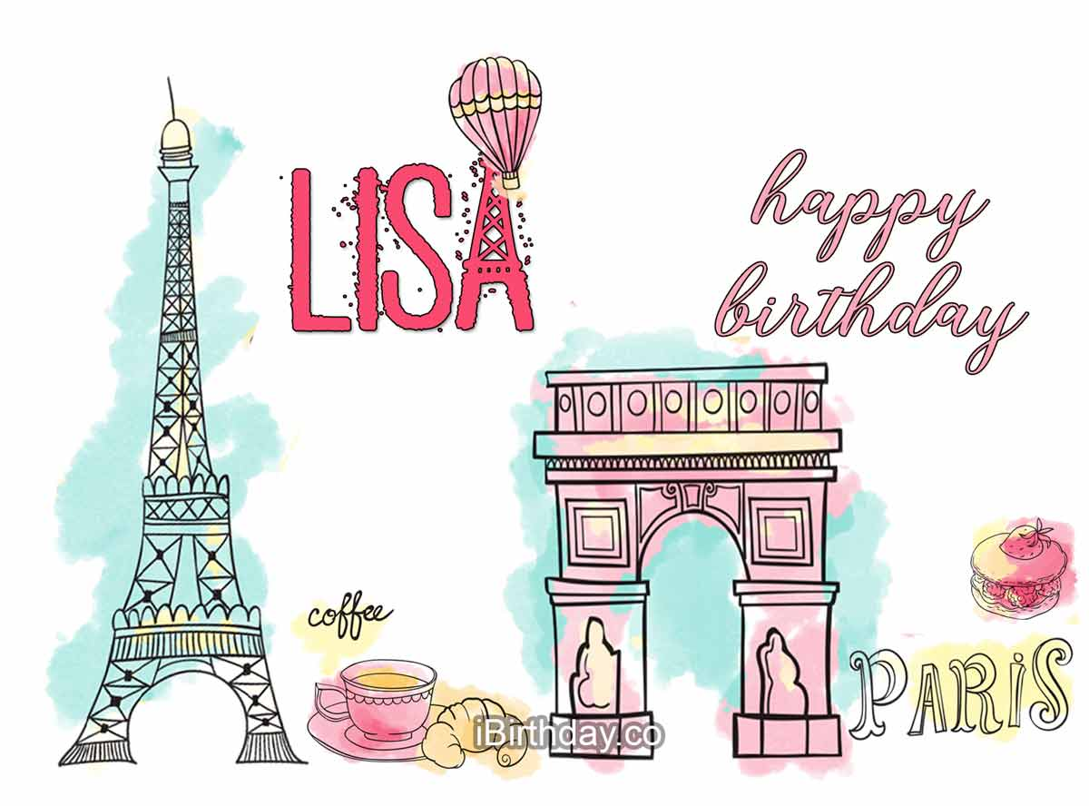 Lisa Paris Birthday Wish