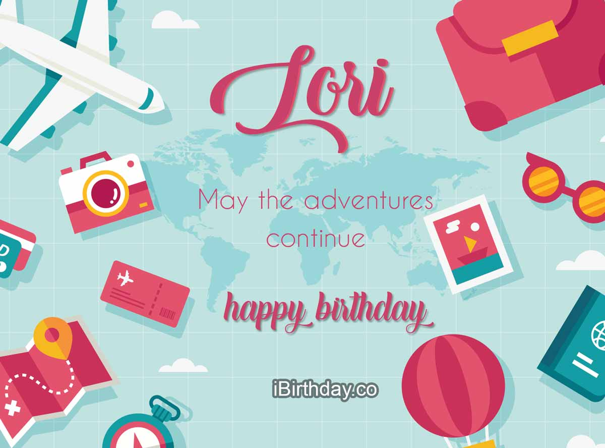Lori Travel Birthday Wish