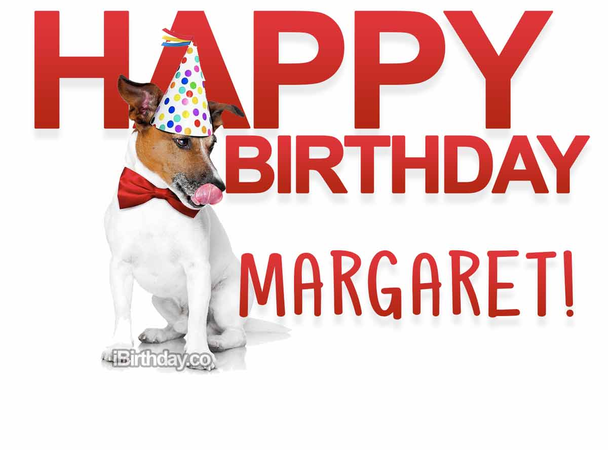 Margaret Dog Birthday Meme