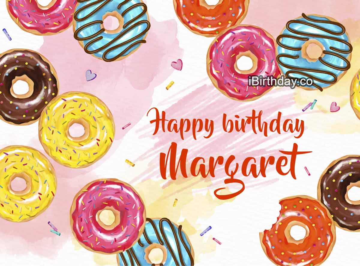 Margaret Donuts Birthday Meme