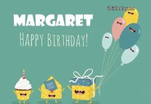 Margaret Gift Birthday Meme