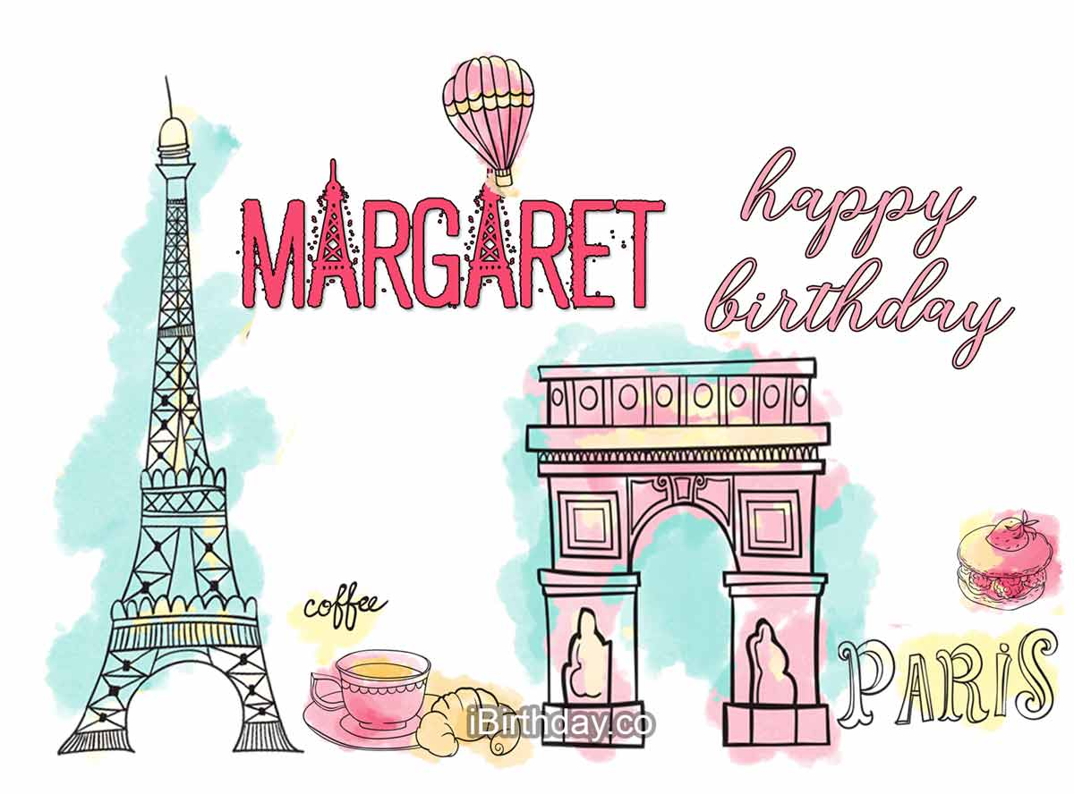 Margaret Paris Happy Birthday