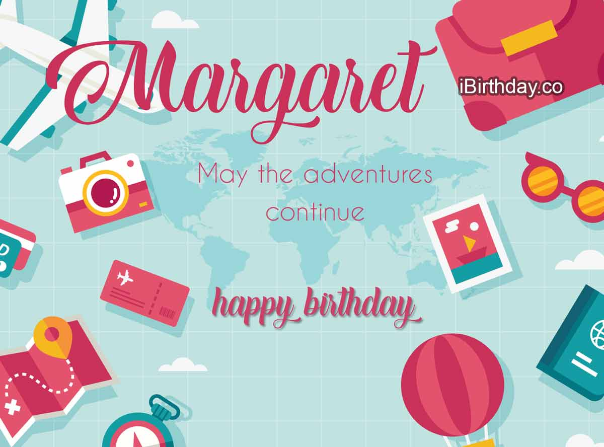 Margaret Travel Birthday Meme