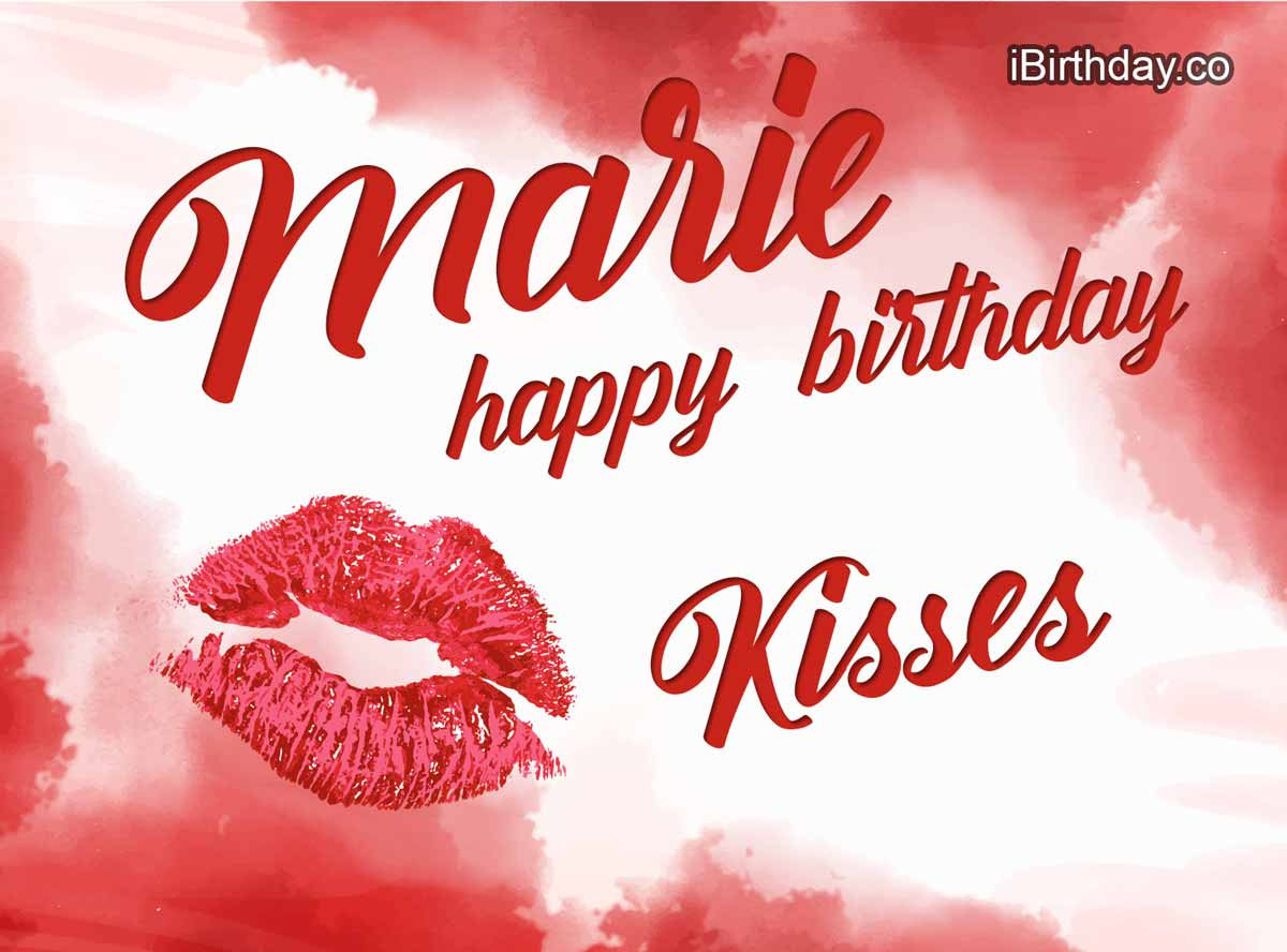 Marie Kisses Birthday Meme