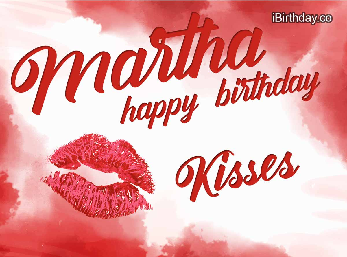 Martha Kisses Birthday Meme