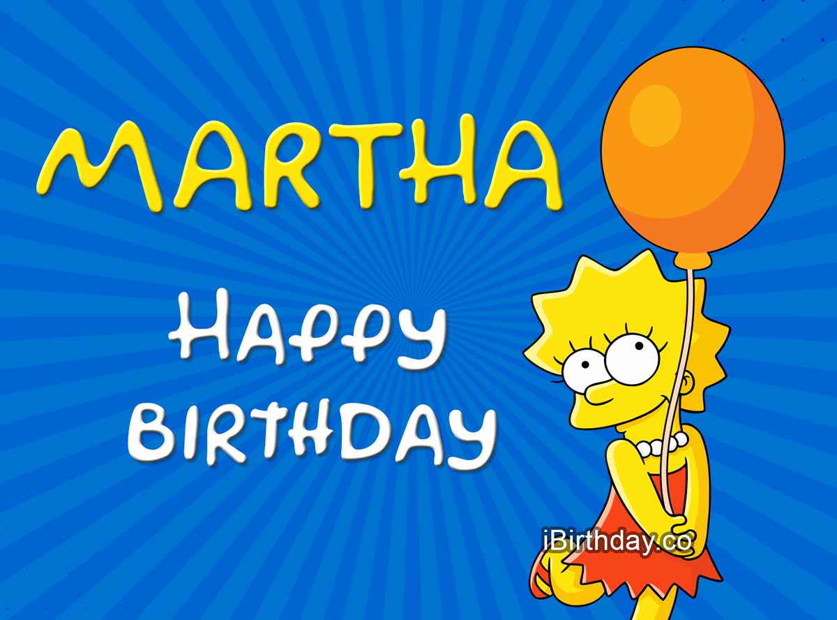 Martha Lisa Simpson Birthday Meme