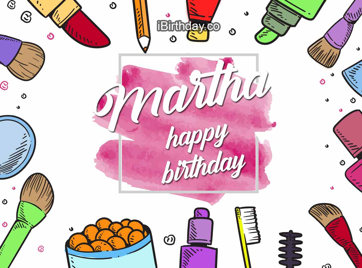 Martha Makeup Birthday Meme