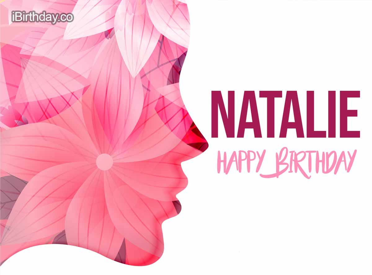 Natalie Girl Birthday Wish