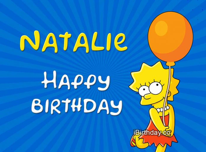 Natalie Lisa Simpson Birthday Meme