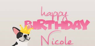 Nicole Dog Birthday Meme