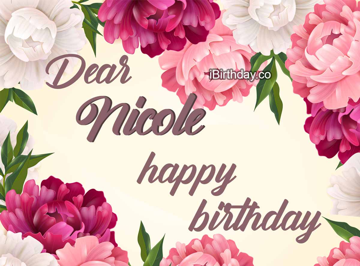 Nicole Flowers Birthday Meme