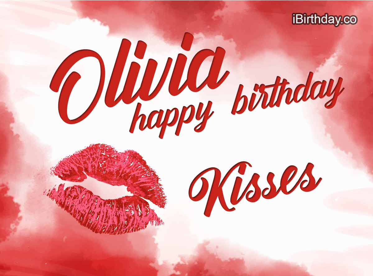Olivia Kiss Birthday Meme